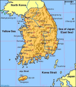 korea_south_map